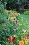 Side flower bed...